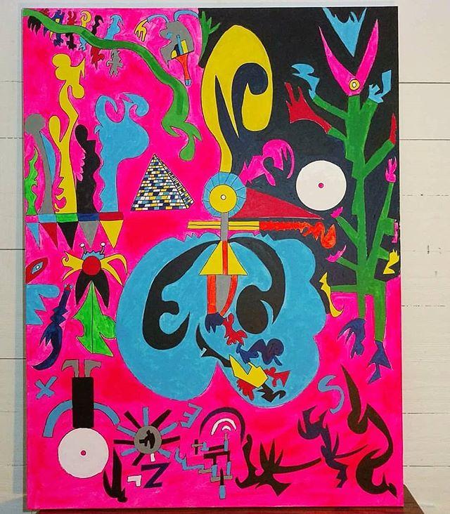 "Awkward Manipulation 36"" x 48""  Acrylic On Canvas For Sale!! Free Shipping! #art #painting #acrylicpainting #abstractpainting #artshow #arttherapy #design #interiordesign #style #fashion #artistofinstagram #artofinstagram #visualart #artist #painter #stevesharonart #btv #vt #contemporaryart #abstractartist  #abstractpainter #color #modernart #instaart #outsiderart #instaart #artfinder #artdealer #abstractart"