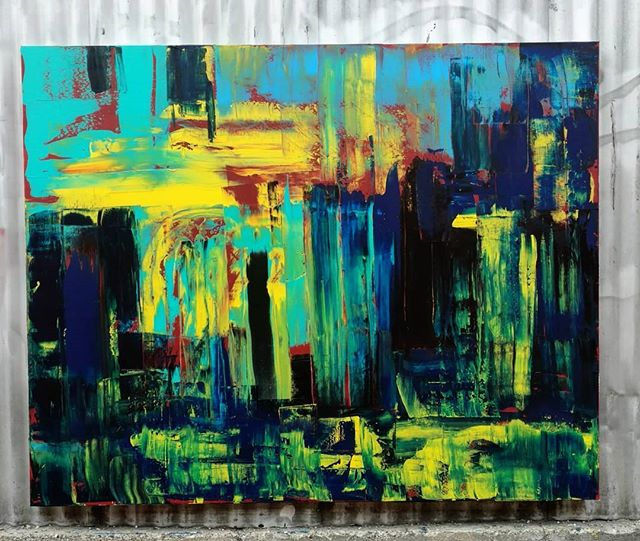 "Cold Earth Harvest 60"" x 48""  Acrylic On Canvas #art #painting #acrylicpainting #abstractpainting #artshow #arttherapy #design #interiordesign #style #fashion #artistofinstagram #artofinstagram #visualart #artist #painter #stevesharonart #btv #vt #contemporaryart #abstractartist  #abstractpainter #color #modernart #instaart #outsiderart #instaart #artfinder #artdealer #abstractart #paintingoftheday"