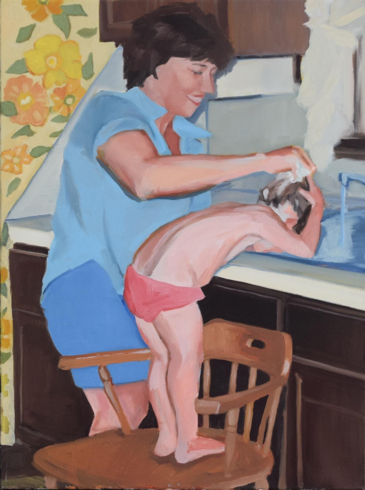 Baker, Margaret- Kitchen Sink-24x18 inch oil on canvas.jpg