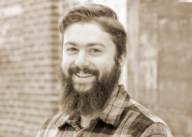 Jackson Ross-Parent - Grew a beard during four months at the South Pole Research Station; Jackson is now attending the American College of the Building Arts with a specialty in timber framing, still proudly sporting that beard.