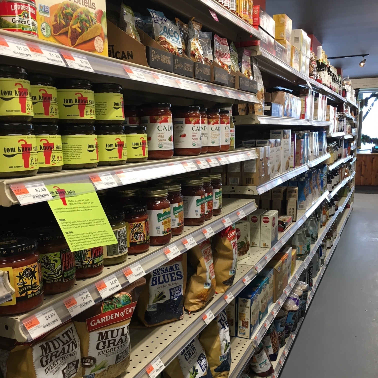 Grocery - Our center store grocery aisles have all your basics covered---great national brands you've come to trust, some local one-of-a-kind offerings and some adventurous items to inspire your palate and provide substance to your everyday meals. Cereal, olive oils, baking needs, pasta . . . you get the idea. Great products, value, and customer service beyond compare. Let MoCo complete your shopping list!
