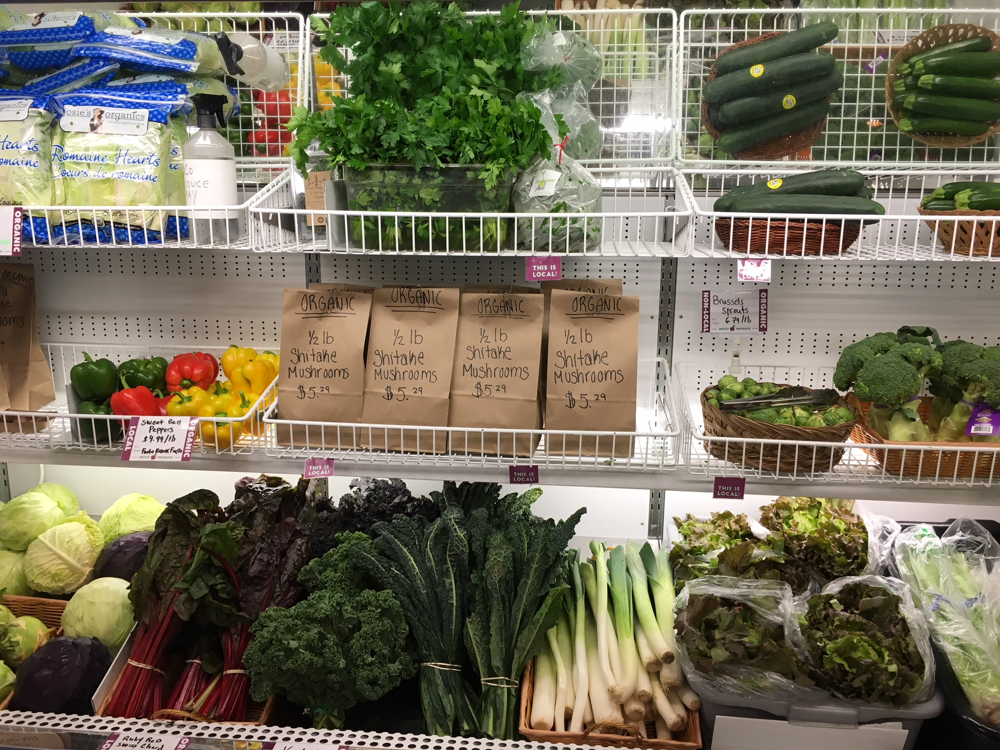 Produce - Our produce department is teeming with the freshest available vegetables and fruit around. Local farmers harvest and deliver to us, often on the same day. Vermont's freshest produce will always be at MoCo. Nutritionally dense, responsibly-grown food to keep your family healthy!