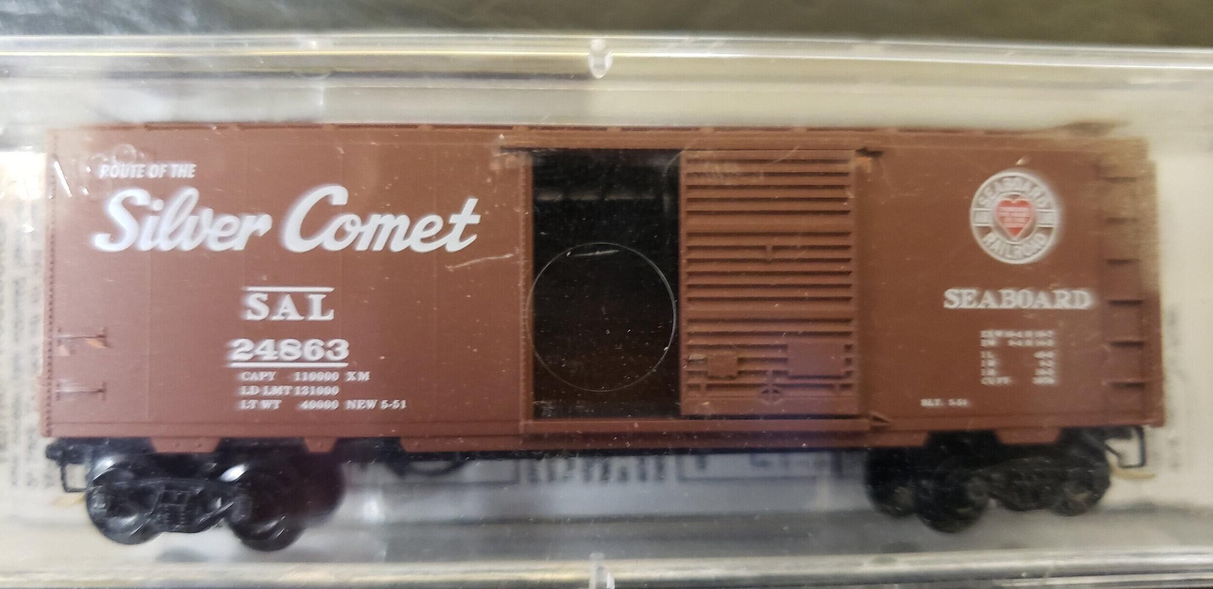 Micro Trains MTL 02100412 N Scale Single Door Box State Car Connecticut