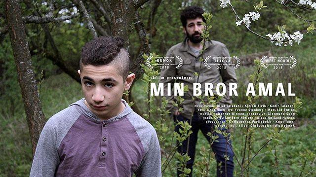 "pris til filmen ""Min bror Amal"" på The Santa Barbara International Film Festival (SSIFF) med @knut_joner på foto! - #worklife #ssiff #cinematography #minbroramal"