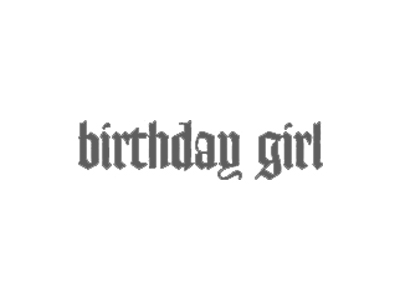 Birthday Girl Logo