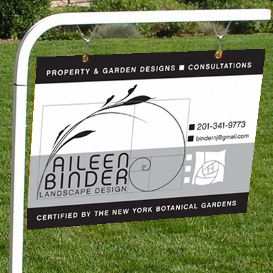 Aileen Binder yard sign