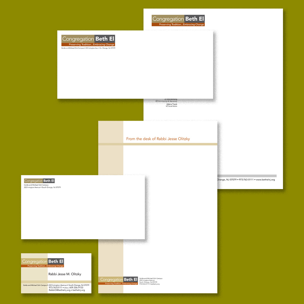 Stationery and business card