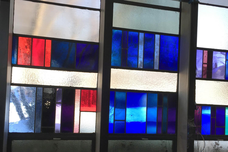Detail of Sanctuary windows