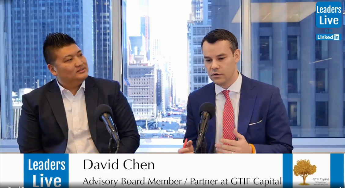David Chen, GTIF Capital |Partner FaZe Clan - Partner at Sharebert | CommLoan | Sparkle Coin
