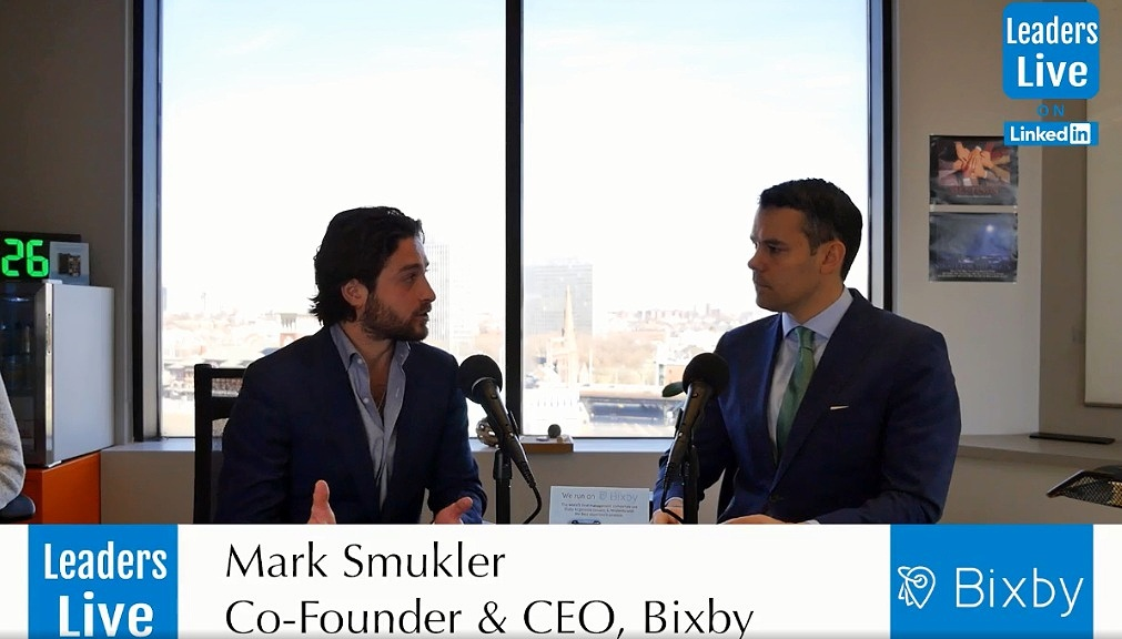 Mark Smukler, CEO & Founder Bixby -