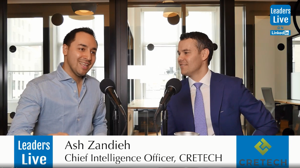 Ashkán Zandieh, CIO of CREtech |Founder RE:Tech | CEO PropertyIDX -