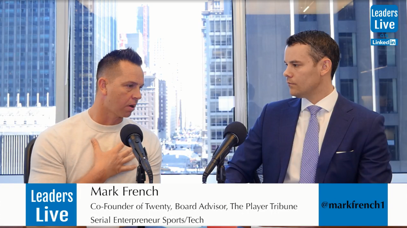 Mark French, Twenty | The Players Tribune | AdAge | MISSON -
