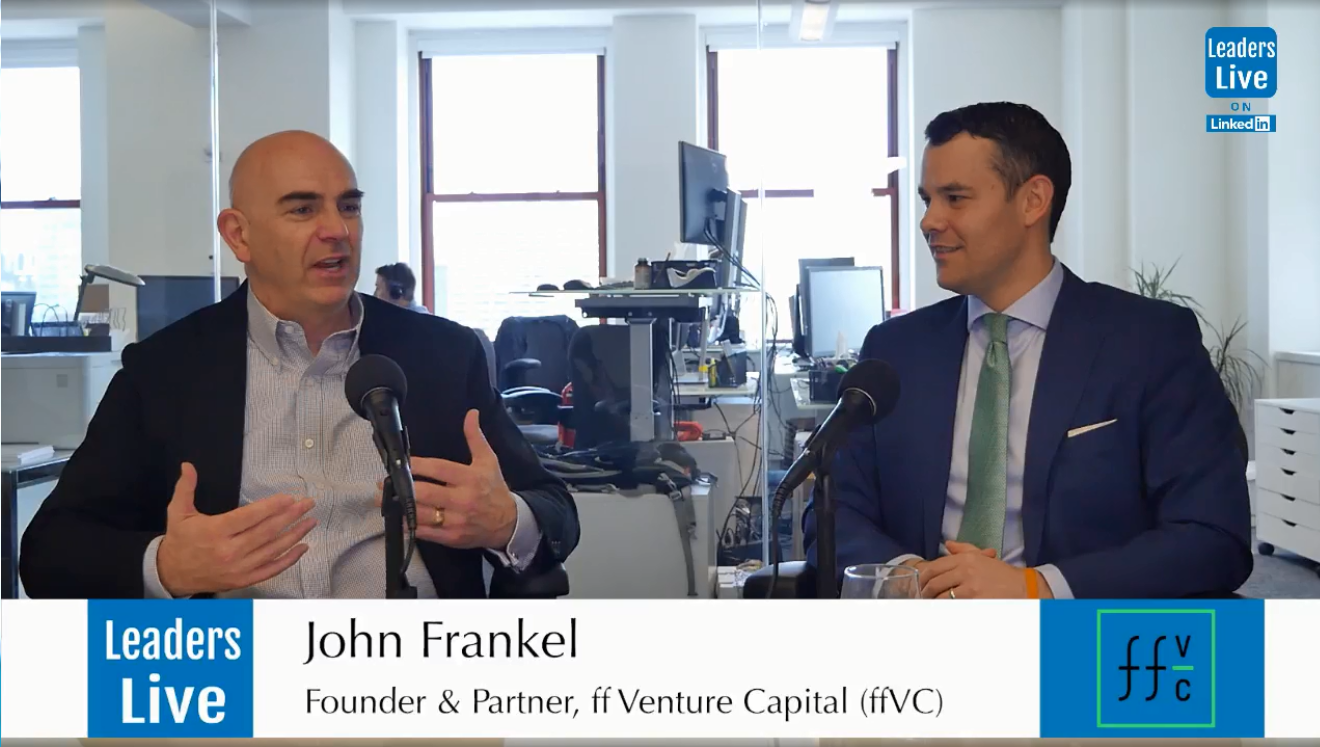 John Frankel, Founding Partner ff Venture Capital -