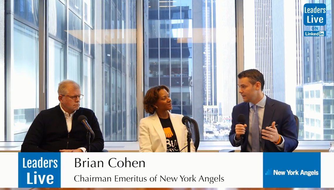 Chymeka Olfonse, BUILD NYC - w/ Brian Cohen, Chairman Emeritus of NewYork Angels & Angel Investor to Pinterest