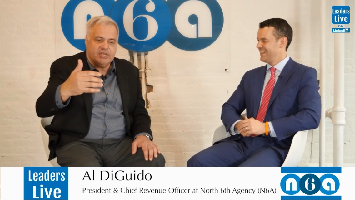 Al DiGuido, President & CRO North 6th Agency - Founder Al's Angel's | Former CEO Epsilon | CEO Zeta Interactive | CEO Bigfoot Interactive