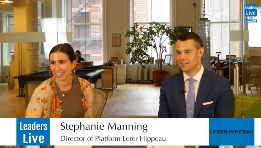 Stephanie Manning, Director of Platform at Lerer Hippeau -