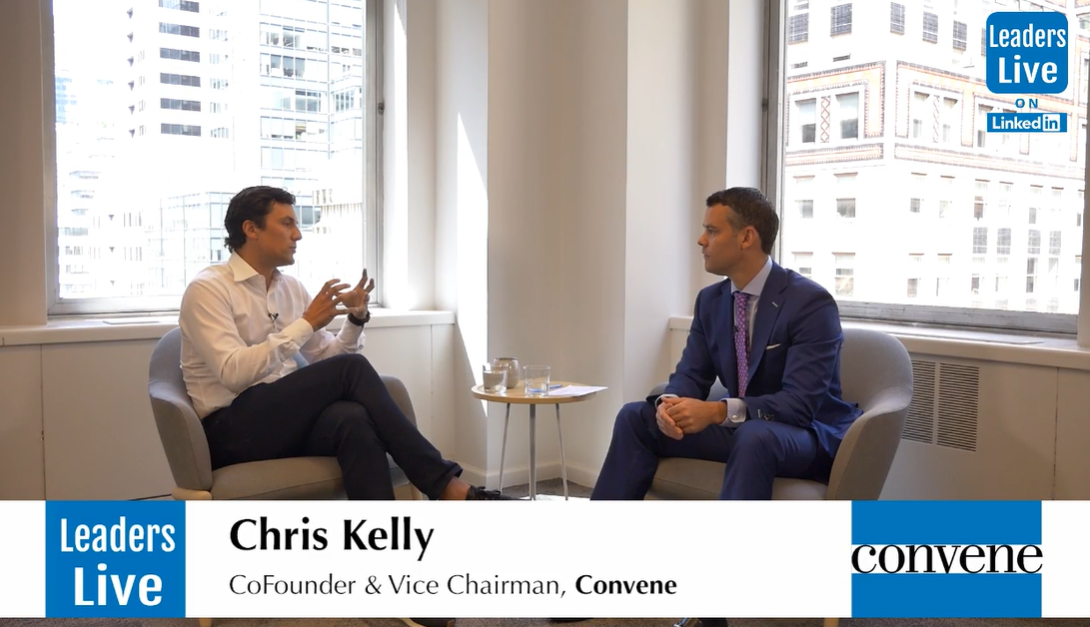 Chris Kelly, CoFounder Convene -