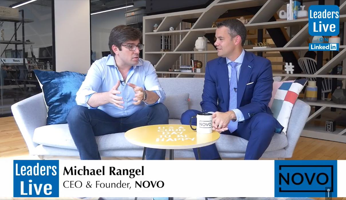 Michael Rangel, CEO & Founder Bank Novo -