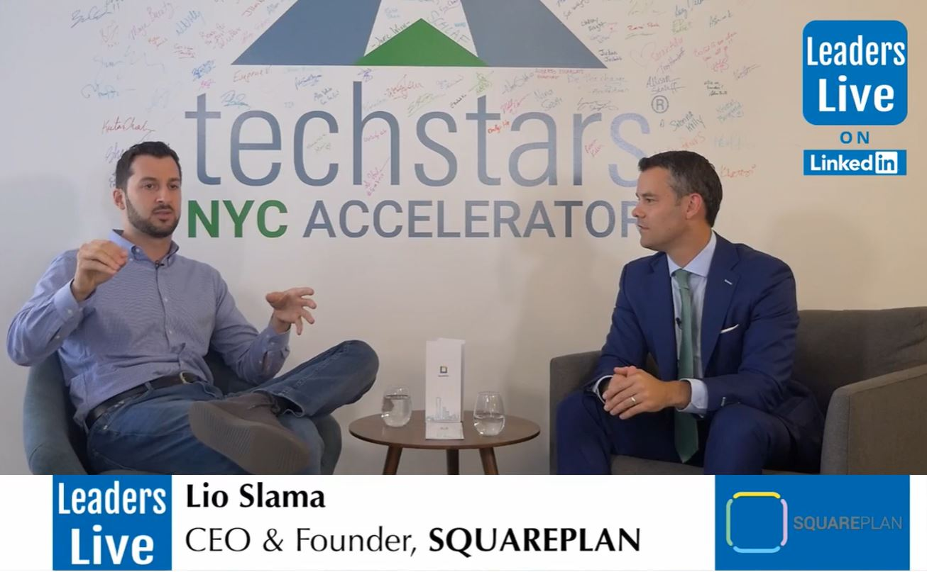 Lio Slama,CEO & FounderSquarePlan - TechStars Class of 2019