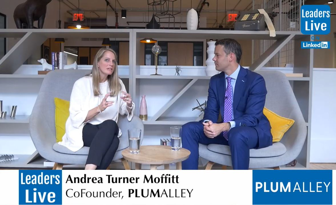 Andrea Turner Moffitt, CoFounder Plum Alley Investments -