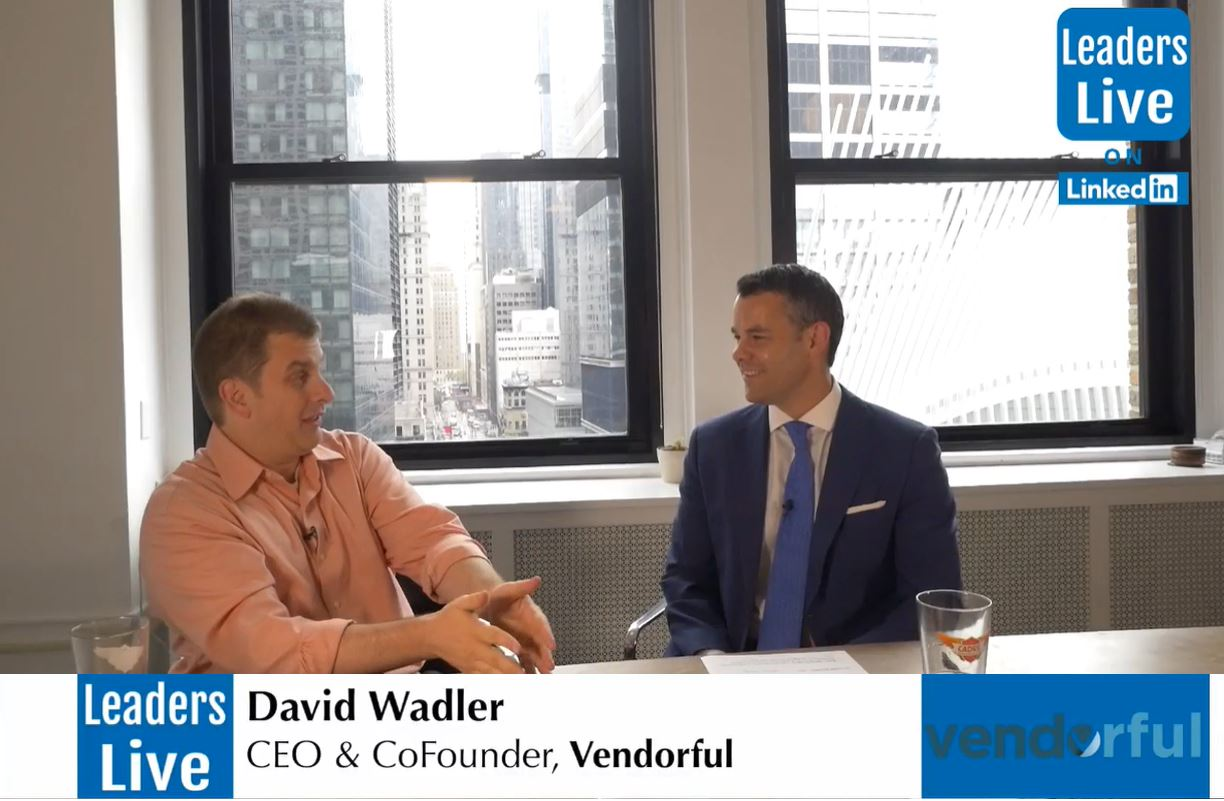 David Wadler, CEO CoFounder Vendorful - Angel Investor & Entrepreneur