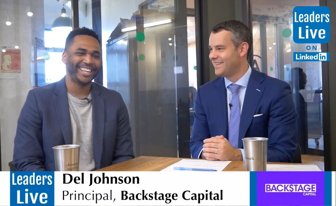 Del Johnson, Principal Backstage Capital -