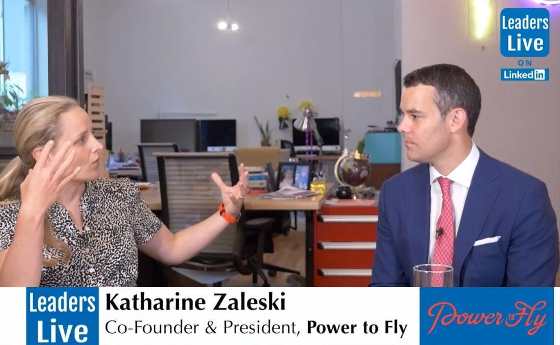 Katharine Zaleski, Co-Founder PowerToFly -