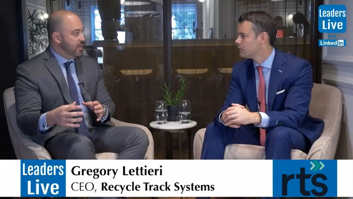 Greg Lettieti, CEO Recycle Track Systems -