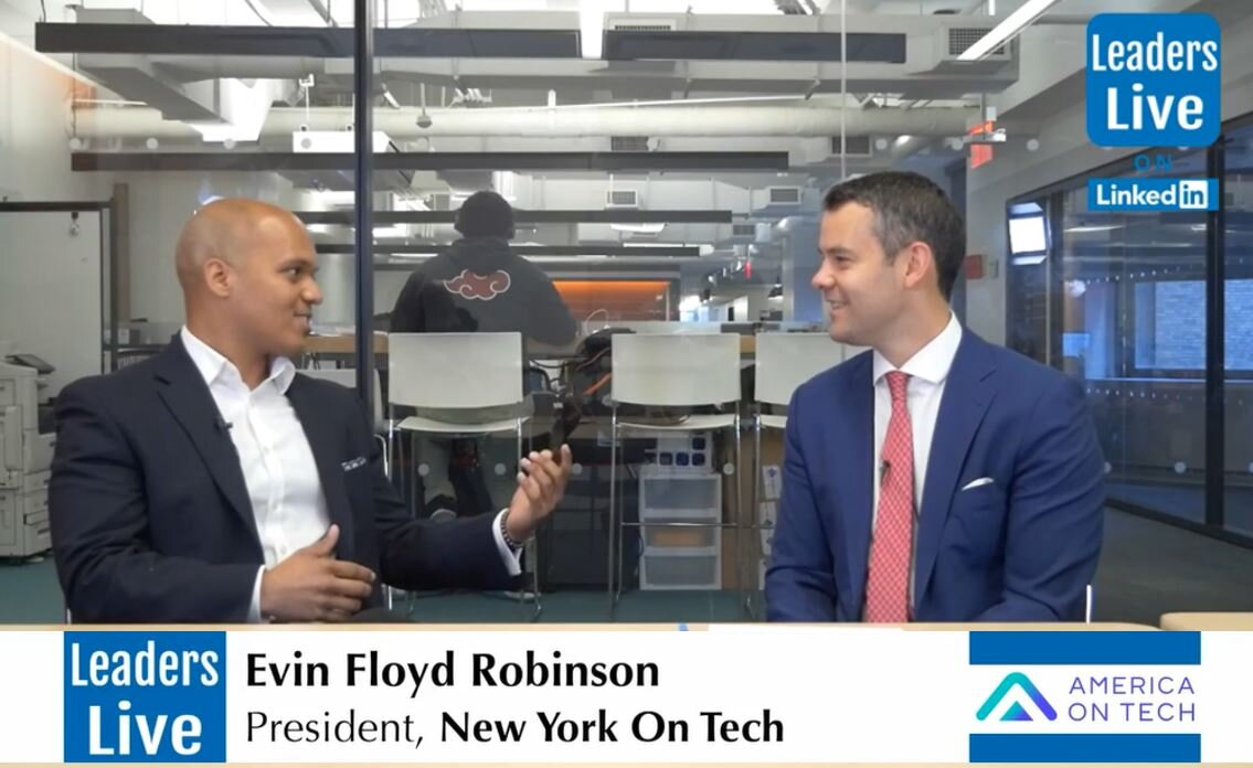 Evin Robinson, CoFounder America on Tech  -
