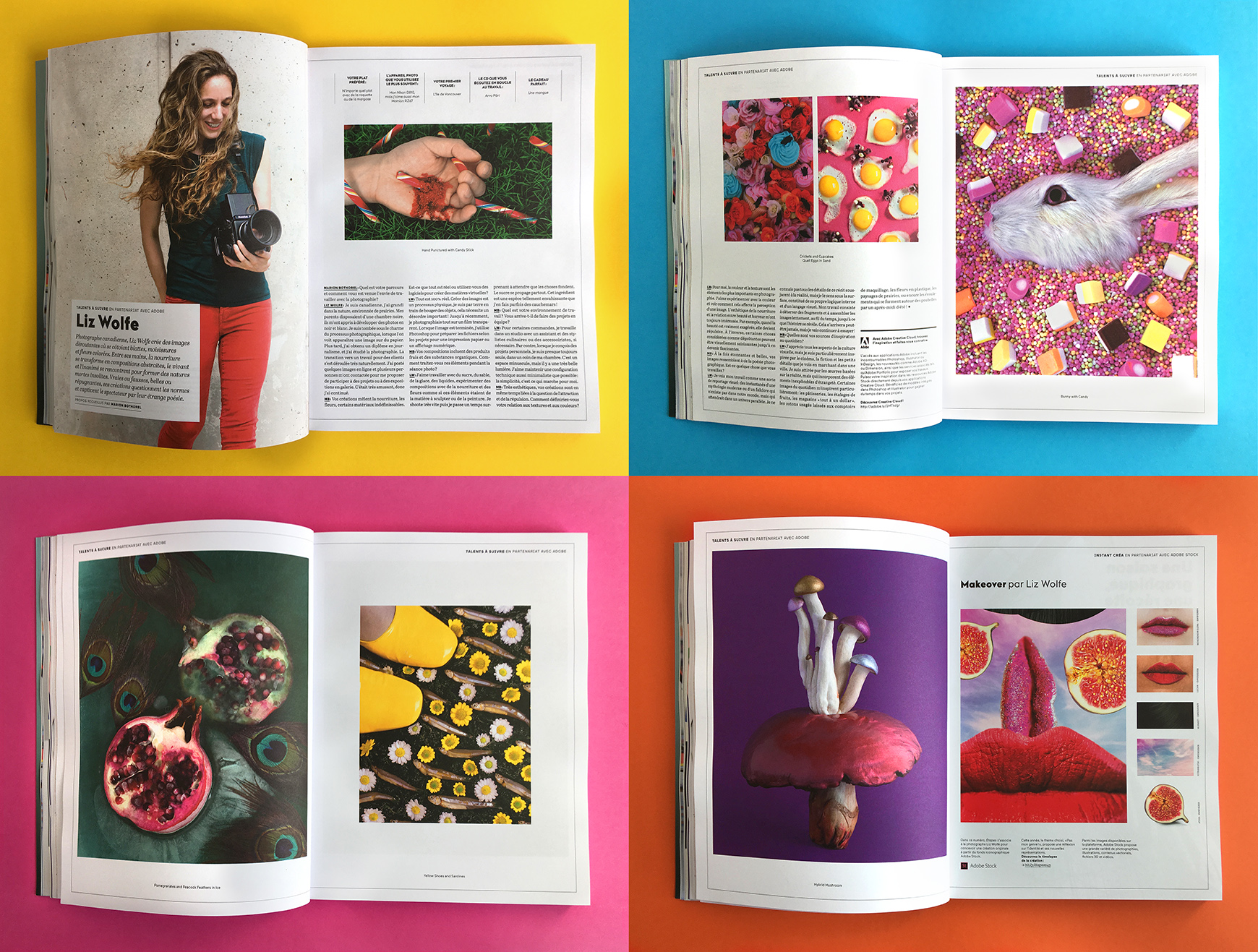 étapes in collaboration with Adobe /  Interview by Marion Bothorel  / France / September-October 2018