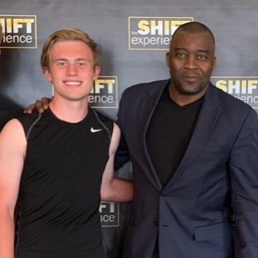 The #SHIFTexperience was amazing! 🔥🔥Great to have my son @cole_lynch_ attend and get to meet the AMAZING @rodsmith80 👊🏻👊🏻 #denver #colorado #conference #health #fitness #mindset #success #relationships