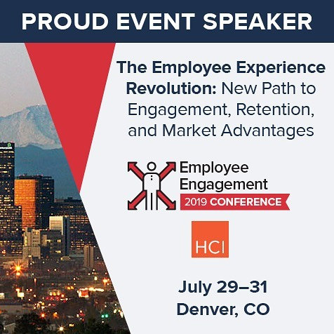 Excited to be the opening #Keynote for @human_capital_institute at the #EmployeeEngagement #conference in Denver July 29-31! Go to hciengagement.com to join us there! #denver #colorado #talent #talentdevelopment #hr #humanresources #futureofwork