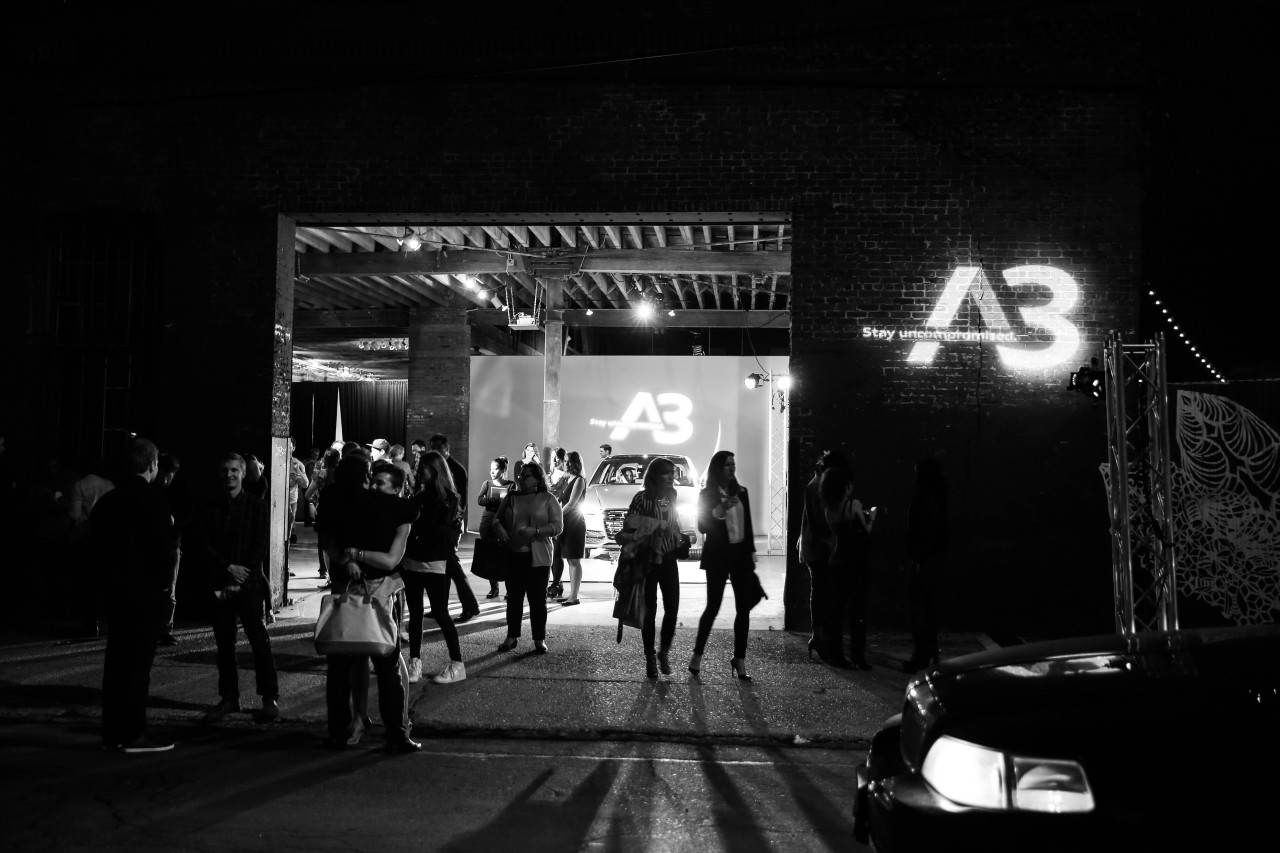 Audi A3 Launch Party at Pioneer Works, Brooklyn, NY