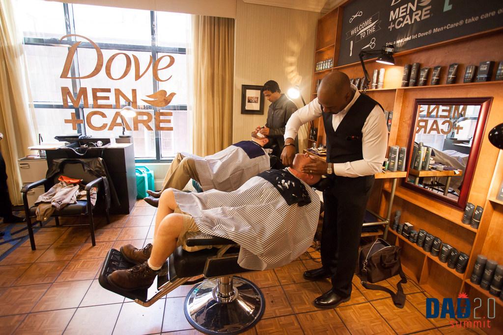 Dove Men+Care Barbershop at Dad2.0