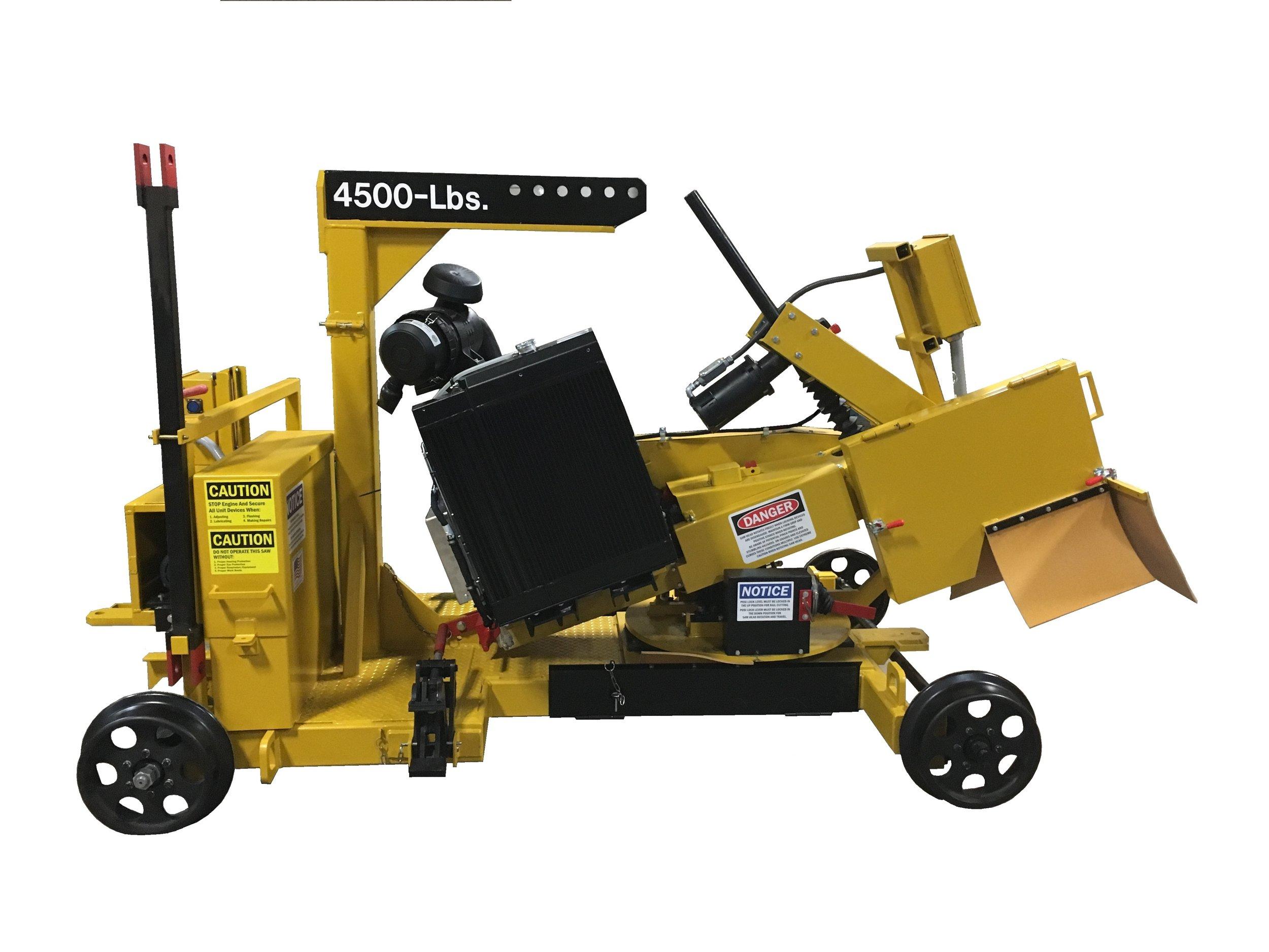Production Rail Saw -