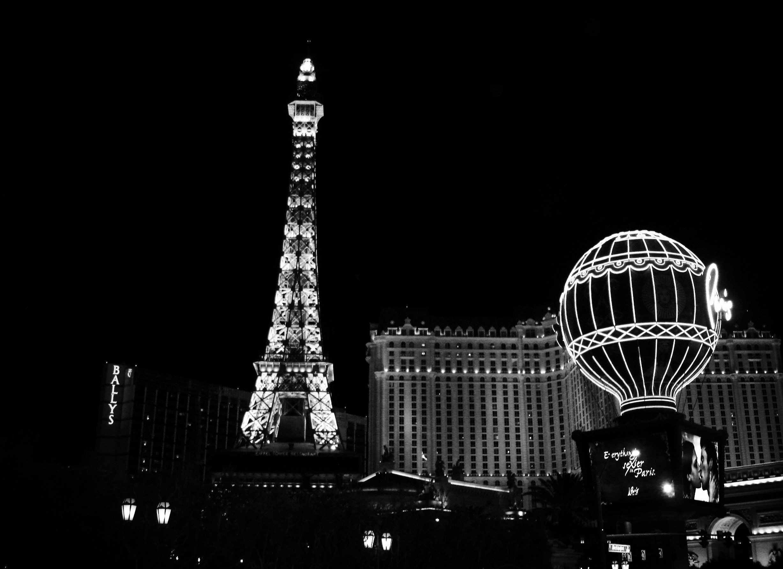 "A view of Las Vegas 10 years ago, taken during my first ""real"" internship."