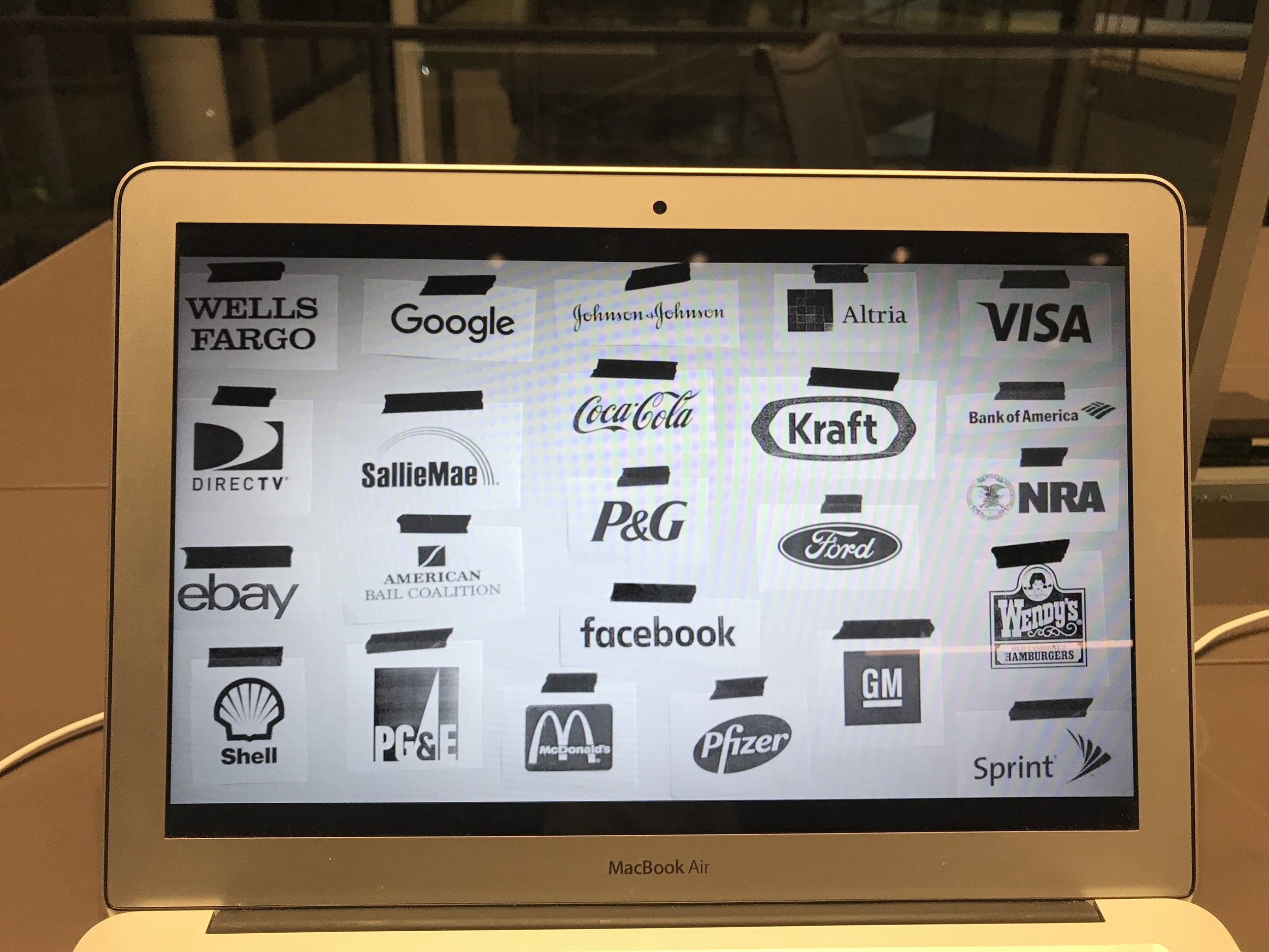 This is a screenshot from 13th that I took as I was angrily crying in the library. It's a list of companies that are, or have been, associated with  ALEC , a shady group that pushes ultra-conservative legislation in the US. Many of them have severed ties after public outcry, but it really shouldn't have taken that. I made a mental note to myself to never work for any of them (and to limit the business that I give them,though Google and Facebook don't make it easy).