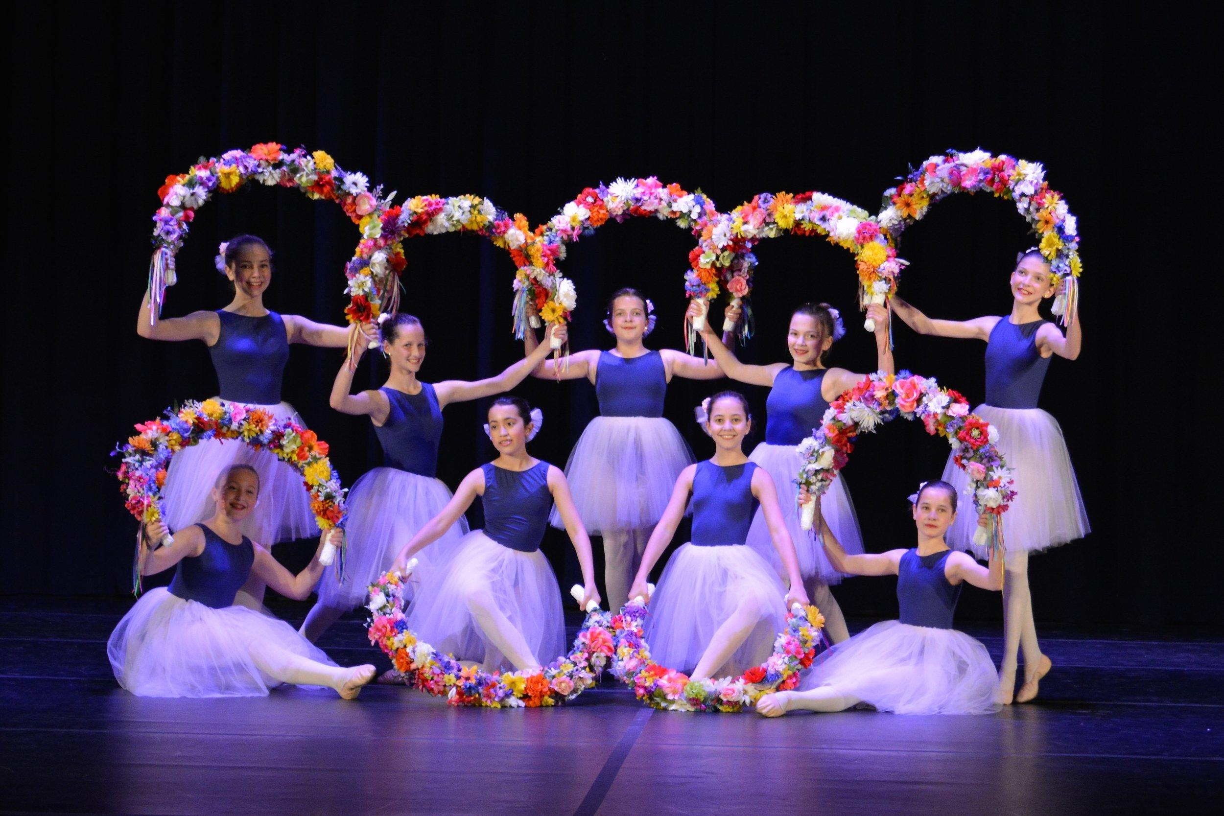 Level III Garland Dance