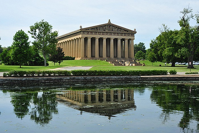 Centennial Park and the Parthenon