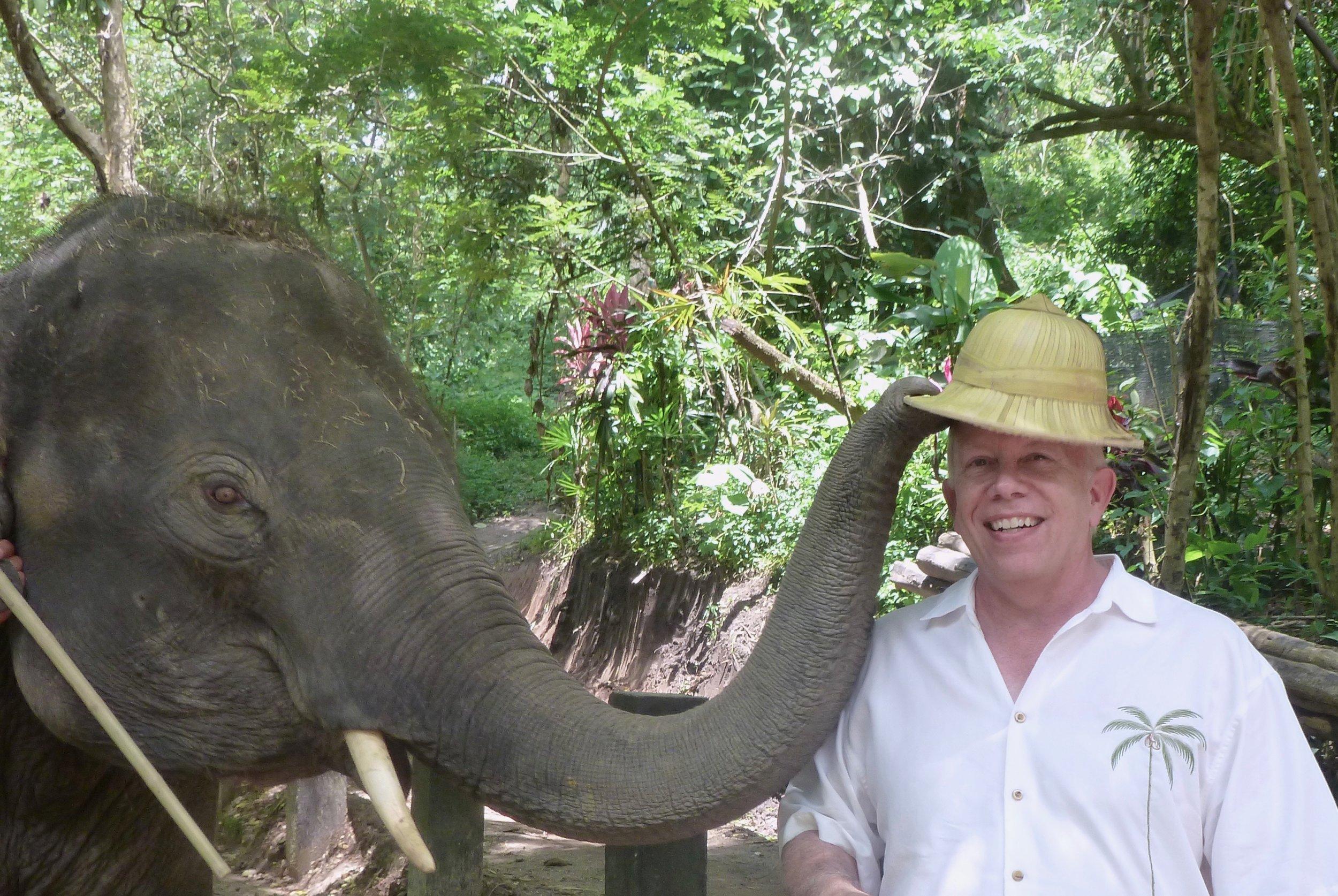 My helpful friend in Thailand.