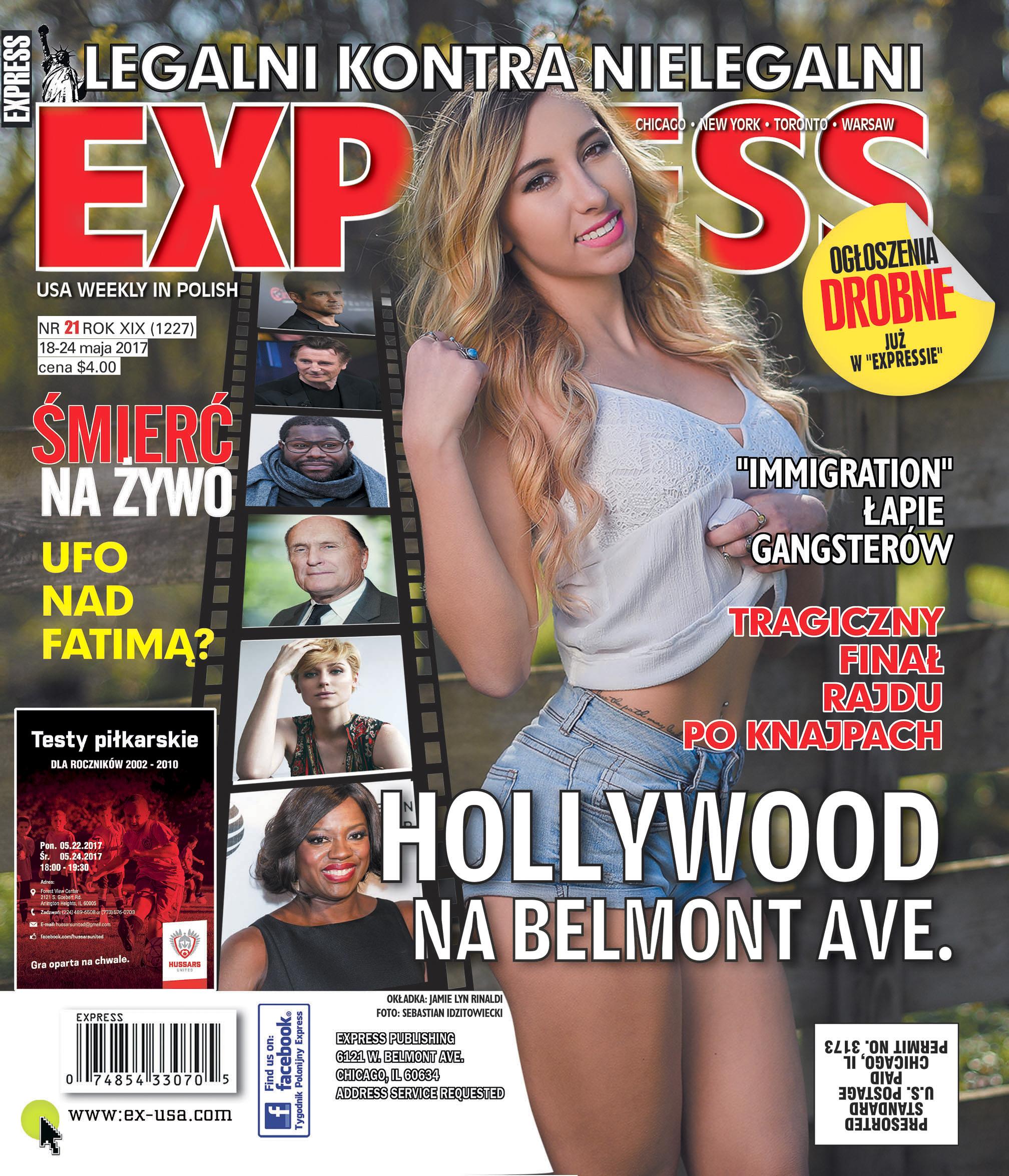 Express Tygodnik Polonijny - May 21st, 2017