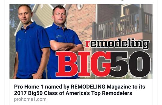 Remodeling Magazine - The 2017 Big50