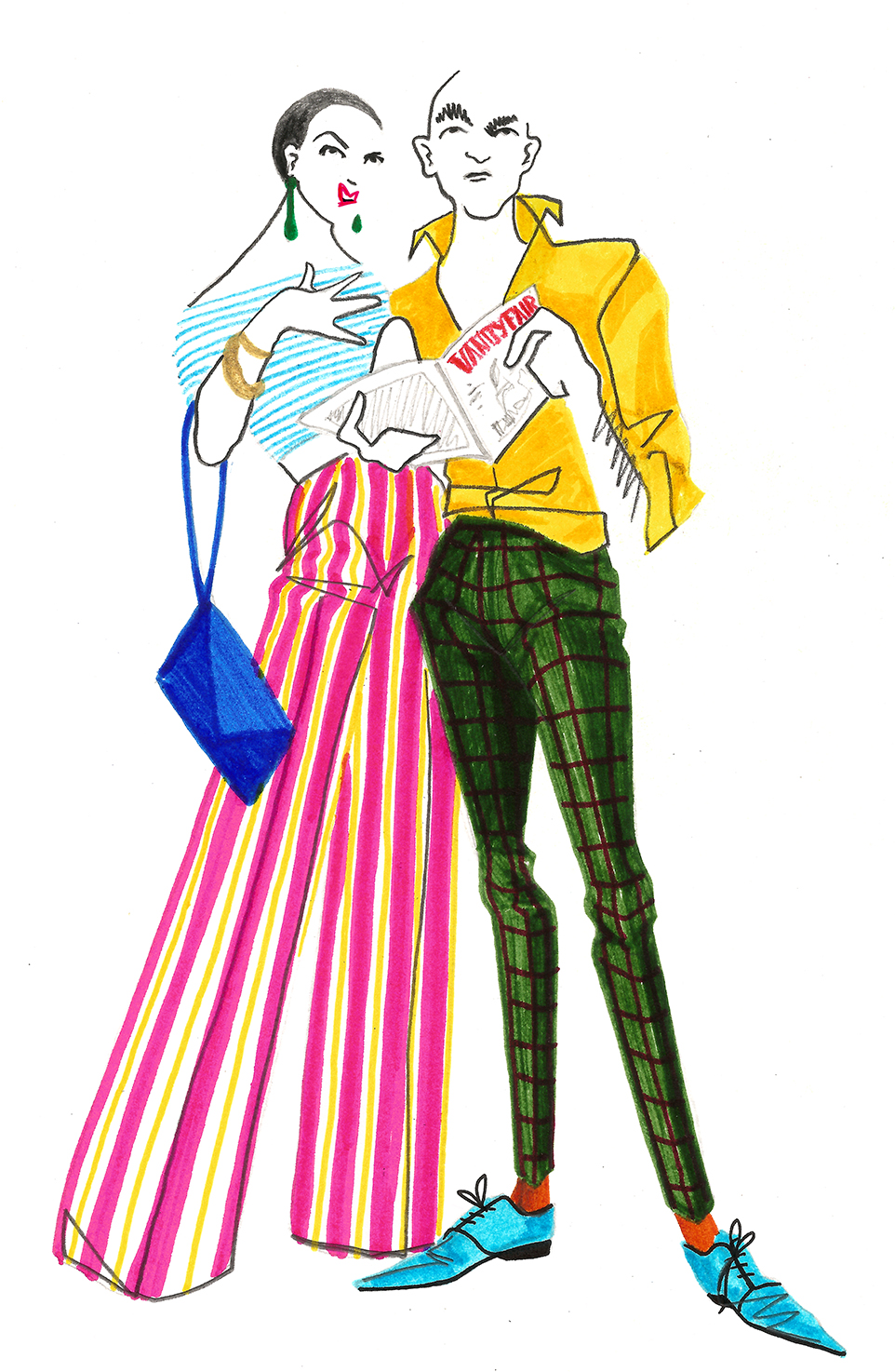 Victoria & Frank, pareja Vanity Fair, por Ignacio Lobera
