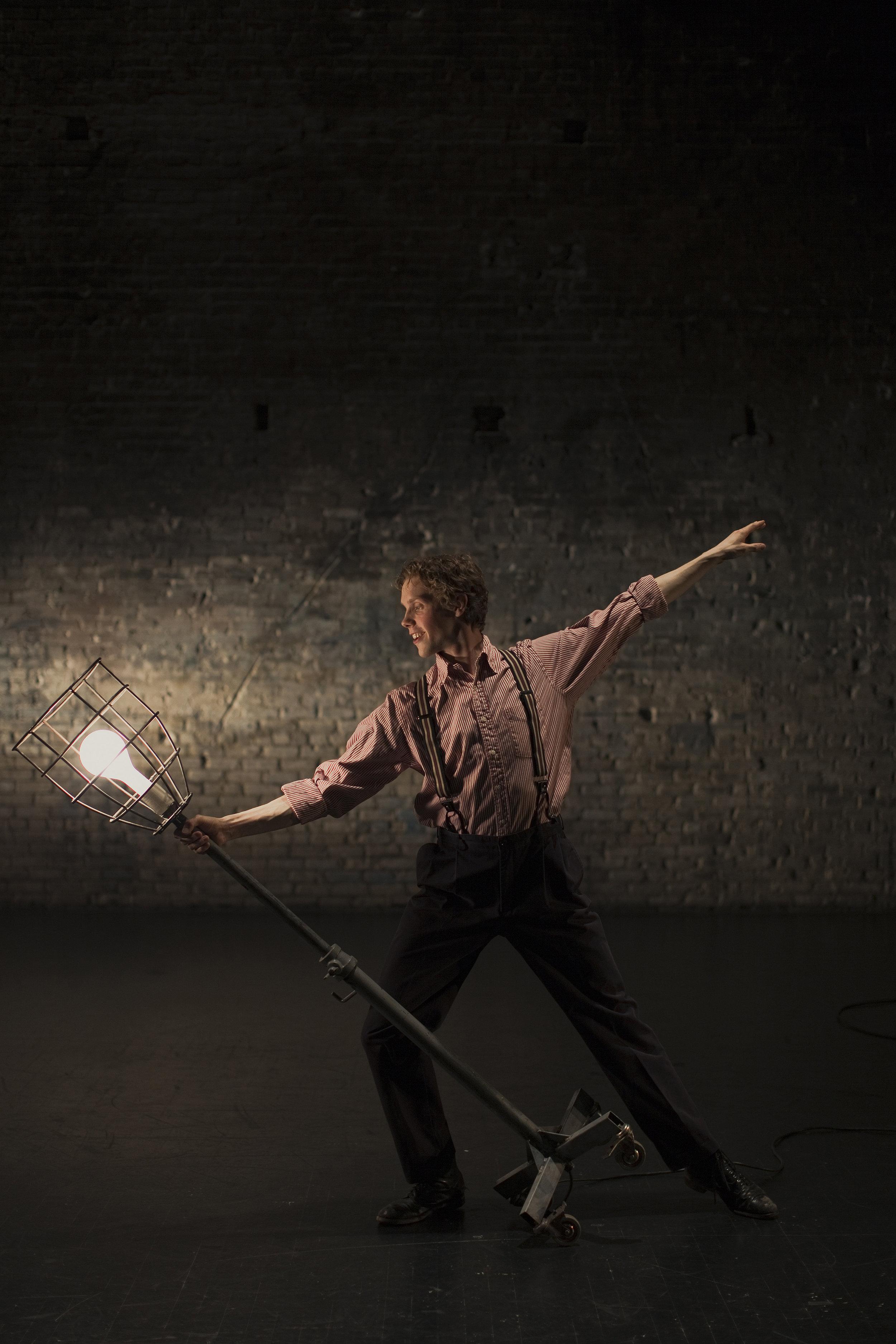 Tyler Michaels as Tulsa, Photo by Joe Dickie