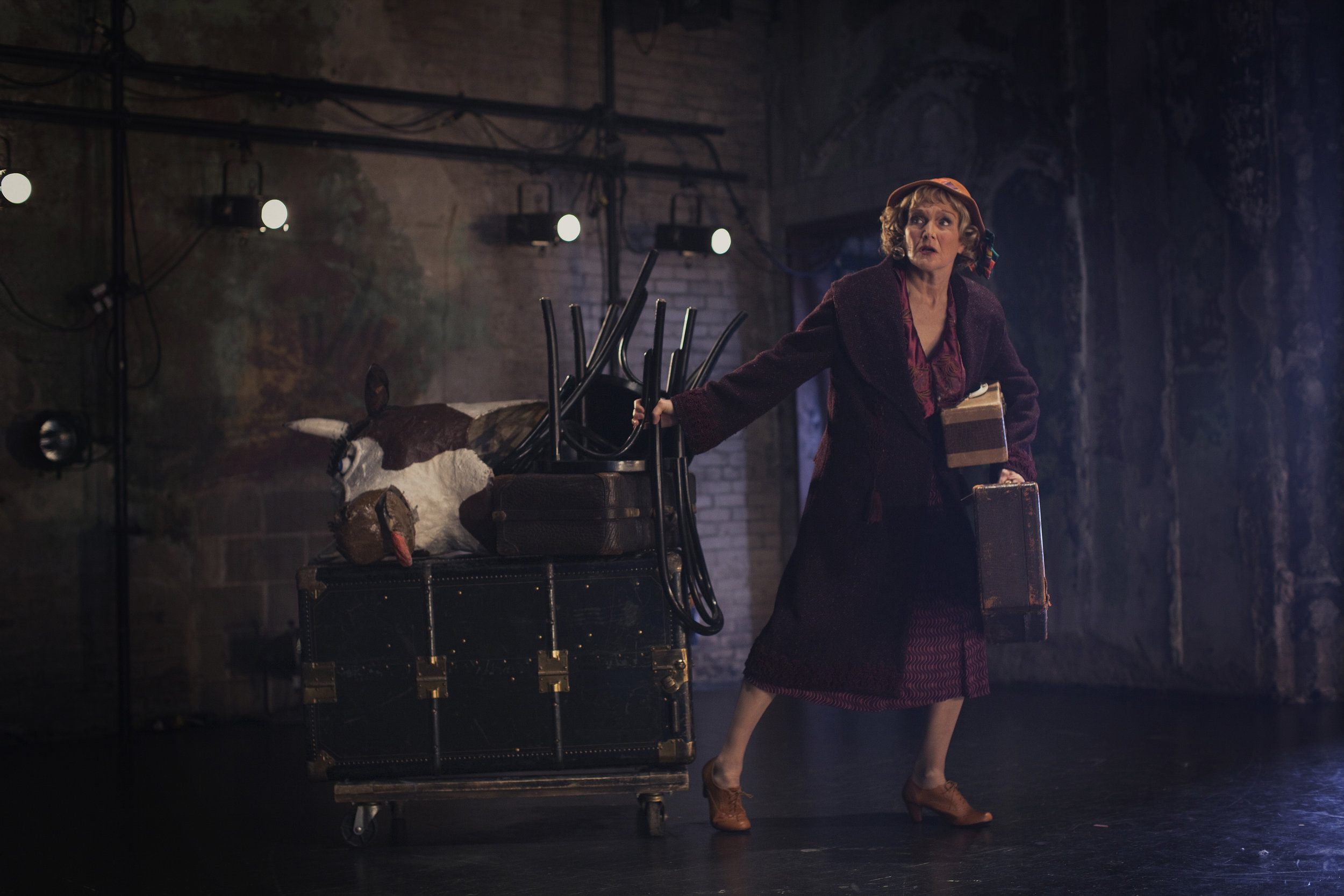 Michelle Barber as Mama Rose, Photo by Joe Dickie