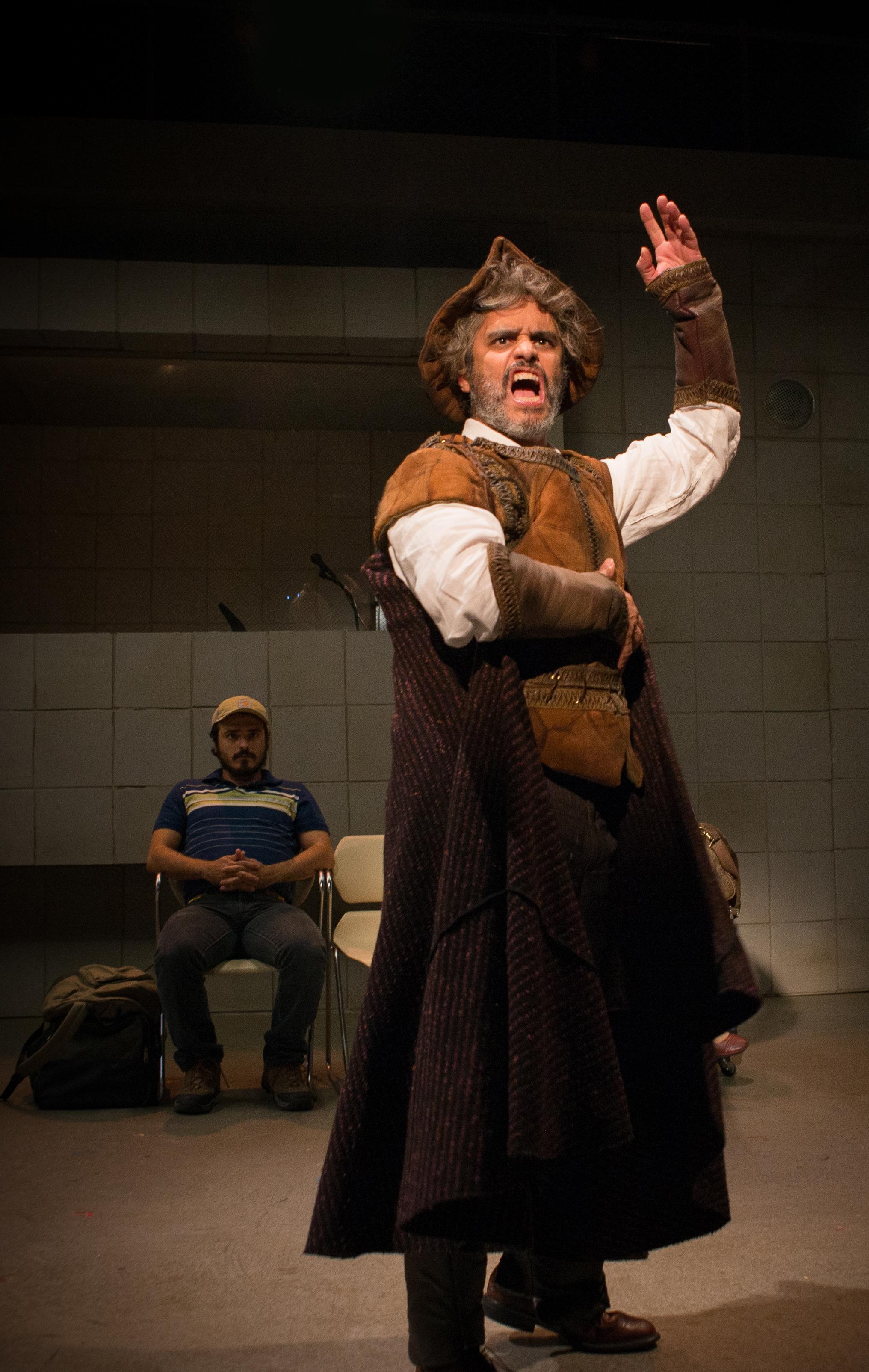 Martín Solá as Don Quixote, Photo by Allen Weeks