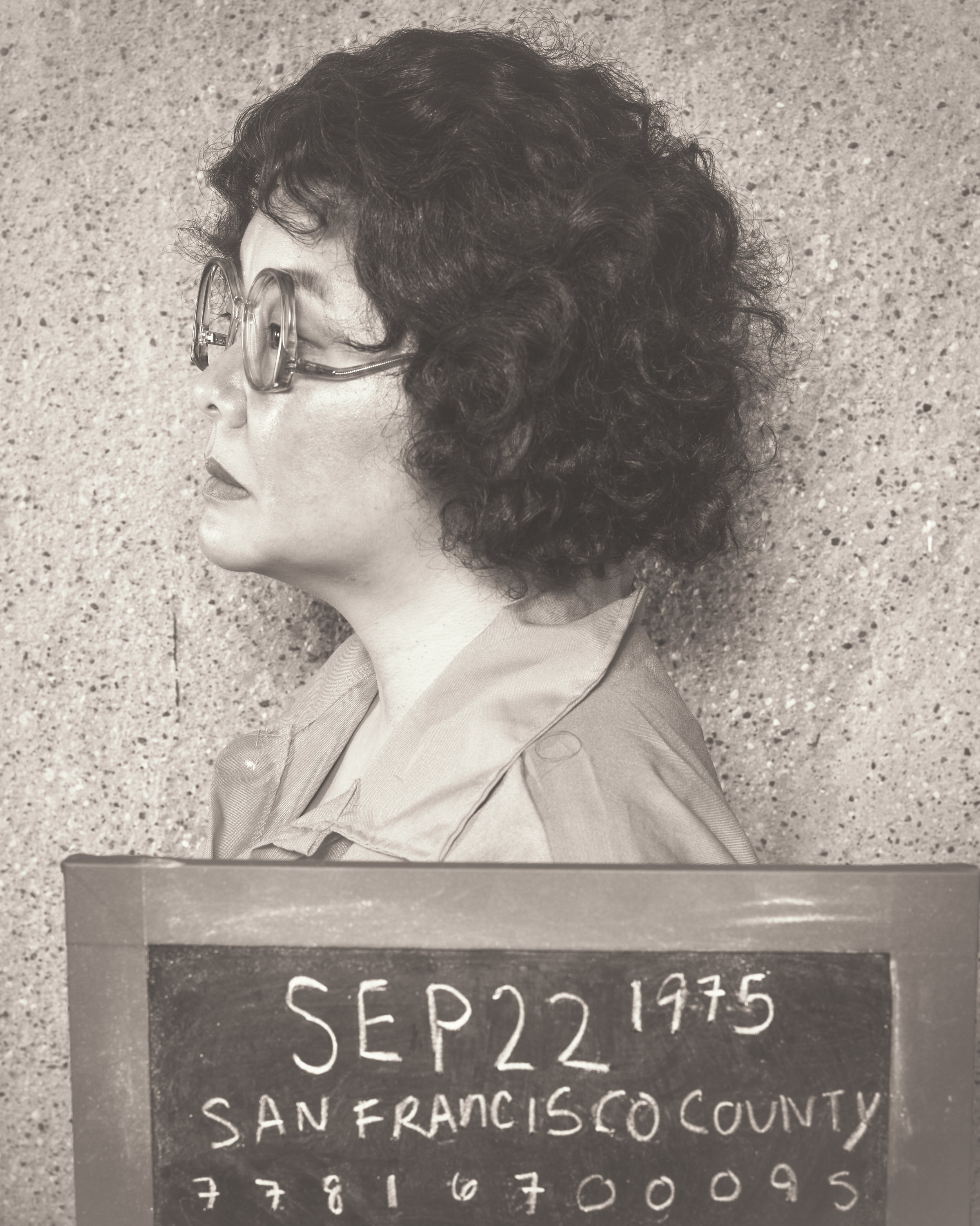 Sara Ochs as Sara Jane Moore/Emma Goldman, Photo by Allen Weeks
