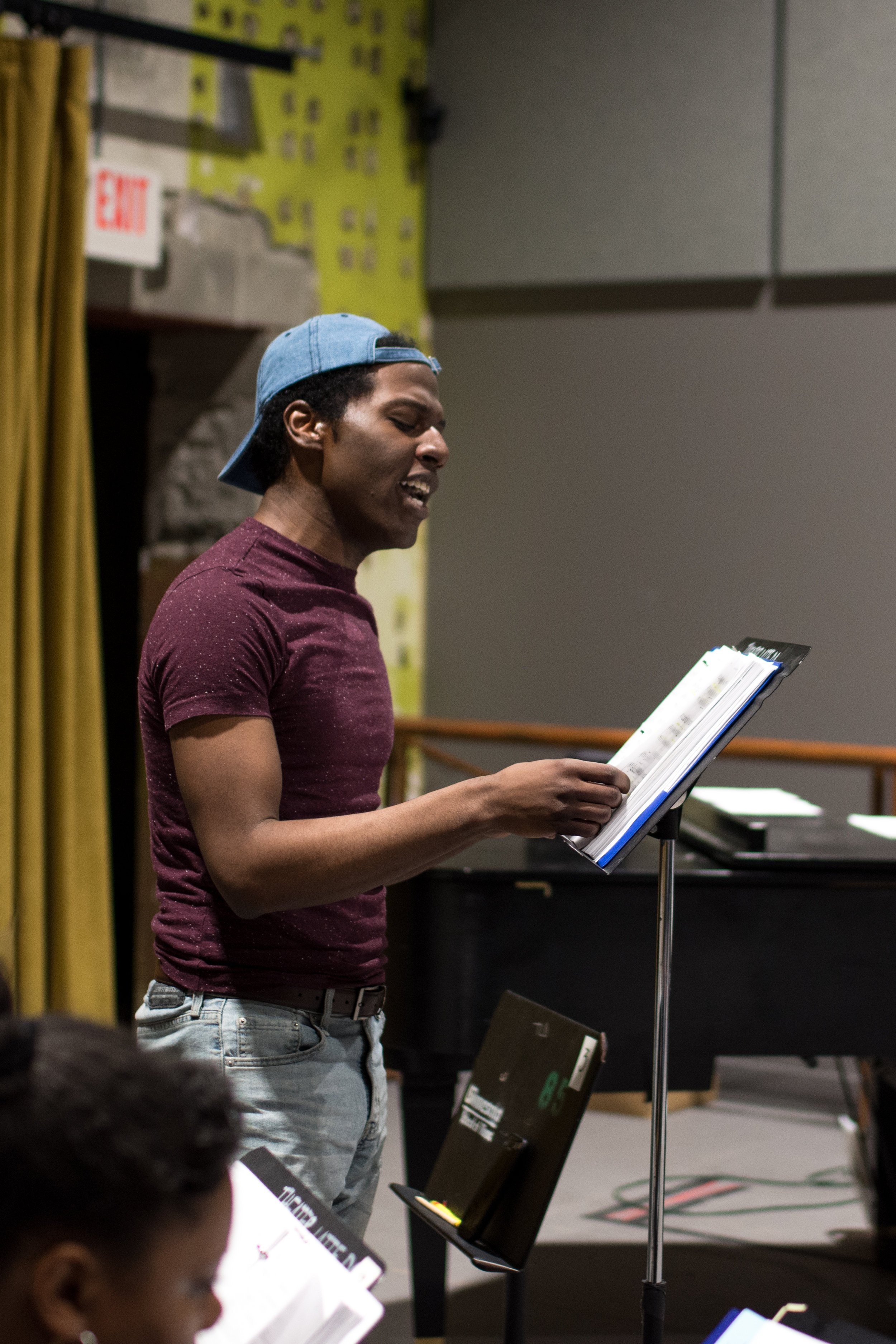 Lamar Jefferson (Willie Lane), Photo by Emilee Elofson