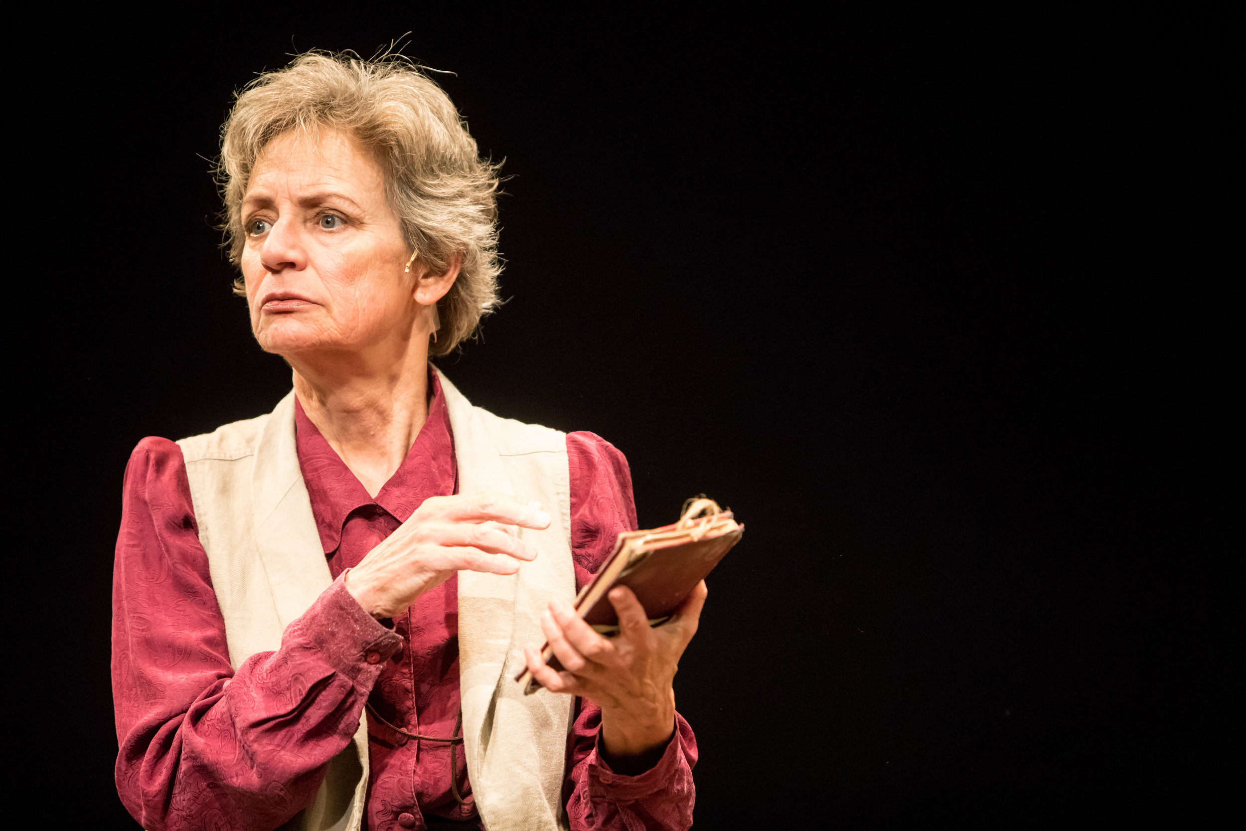 Sally Wingert in UNDERNEATH THE LINTEL, Photo by Dan Norman