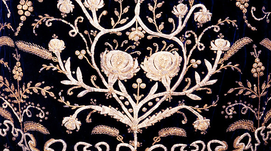 Textiles - Opulent lace, embroidery, and garments speak to the dexterity and imagination of Armenian women,  who passed their talents through the generations.